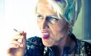 Susanne Gschwendtner als 90-jährige Rock-Oma