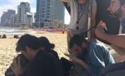 Filming in Tel Aviv, 2015